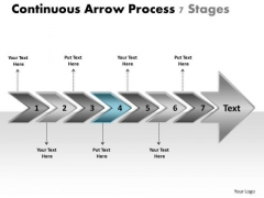 arrow process layout 7 stages home electrical wiring powerpoint rh 108 61 128 68
