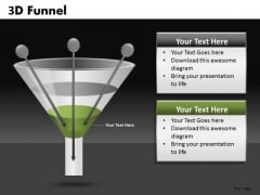 Conversion Funnel Inputs PowerPoint Templates Funnels Ppt Slides