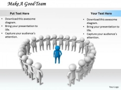 Corporate Business Strategy Make Good Team 3d Character