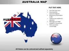 Country PowerPoint Maps Australia