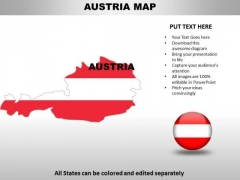 Country PowerPoint Maps Austria