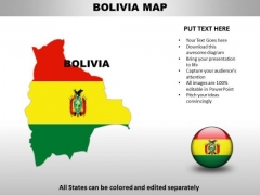 Country PowerPoint Maps Bolivia