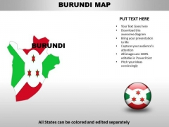 Country PowerPoint Maps Buruni