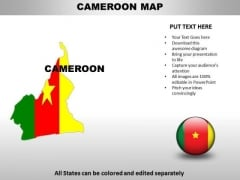 Country PowerPoint Maps Cameroom