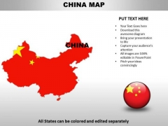 Country PowerPoint Maps China