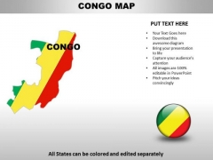 Country PowerPoint Maps Congo