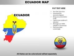 Country PowerPoint Maps Ecuador