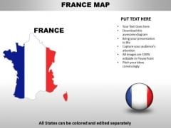 Country PowerPoint Maps France