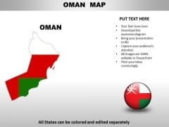 Country PowerPoint Maps Oman