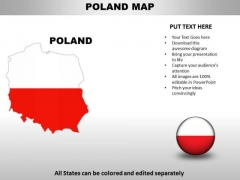 Country PowerPoint Maps Poland