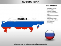Country PowerPoint Maps Russia
