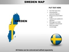 Country PowerPoint Maps Sweden