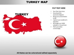 Country PowerPoint Maps Turkey