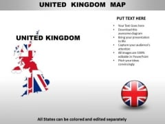 Country PowerPoint Maps United Kingdom