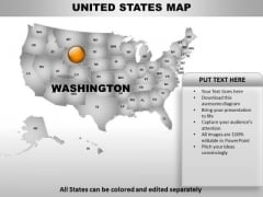 Country PowerPoint Maps United States