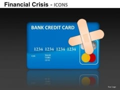 Credit Card Debt PowerPoint Templates