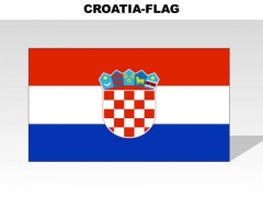 Croatia Country PowerPoint Flags