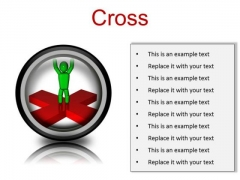 Cross Business PowerPoint Presentation Slides Cc