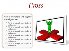 Cross Business PowerPoint Presentation Slides F