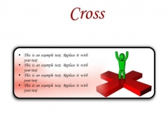 Cross Business PowerPoint Presentation Slides R