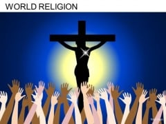 Crucifixion Christ PowerPoint Slides And Ppt Diagram Templates