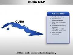 Cuba PowerPoint Maps