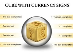 Currency Signs Money PowerPoint Presentation Slides C