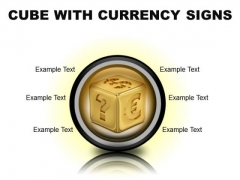 Currency Signs Money PowerPoint Presentation Slides Cc