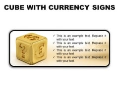Currency Signs Money PowerPoint Presentation Slides R