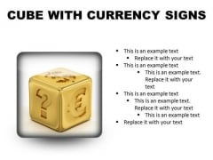 Currency Signs Money PowerPoint Presentation Slides S