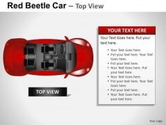 Customer Service Red Beetle Car PowerPoint Slides And Ppt Diagram Templates