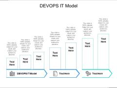 DEVOPS IT Model Ppt PowerPoint Presentation Professional Microsoft Cpb