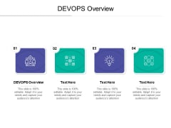 DEVOPS Overview Ppt PowerPoint Presentation Styles Outline Cpb