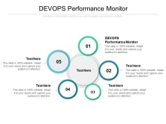 DEVOPS Performance Monitor Ppt PowerPoint Presentation Outline Slide Cpb