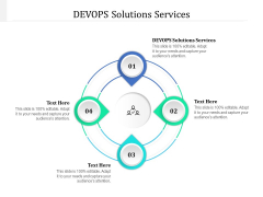 DEVOPS Solutions Services Ppt PowerPoint Presentation Icon Objects Cpb Pdf