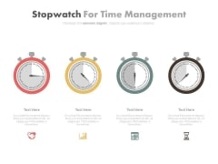 Dashboard Diagram For Time Management Powerpoint Slides