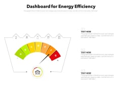 Dashboard For Energy Efficiency Ppt PowerPoint Presentation Show Format PDF