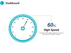 Dashboard High Speed Ppt PowerPoint Presentation Icon Background Designs