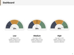 Dashboard Medium Ppt PowerPoint Presentation Gallery Templates