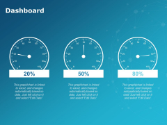 Dashboard Percentage Ppt PowerPoint Presentation Professional Rules