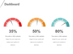 Dashboard Ppt PowerPoint Presentation Deck
