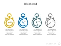 Dashboard Ppt PowerPoint Presentation Guide