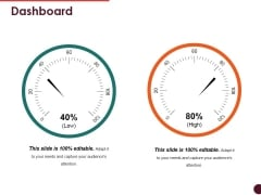 Dashboard Ppt PowerPoint Presentation Icon Infographic Template