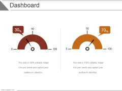 Dashboard Ppt PowerPoint Presentation Infographic Template Format