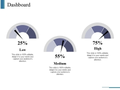 Dashboard Ppt PowerPoint Presentation Infographics Slides
