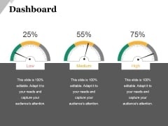 Dashboard Ppt PowerPoint Presentation Layouts Elements