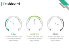 Dashboard Ppt PowerPoint Presentation Model Maker