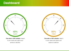 Dashboard Ppt PowerPoint Presentation Outline Images