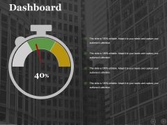 Dashboard Ppt PowerPoint Presentation Outline Mockup