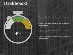 Dashboard Ppt PowerPoint Presentation Outline Mockup